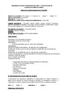 2021-05-21 Compte-rendu du Conseil municipal